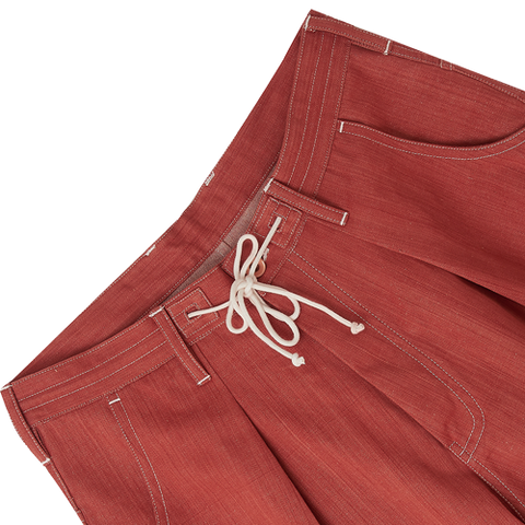 Lush Pants - Dirt Road Red Denim