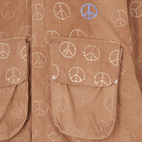 Forager Jacket - Bark Peace Batik