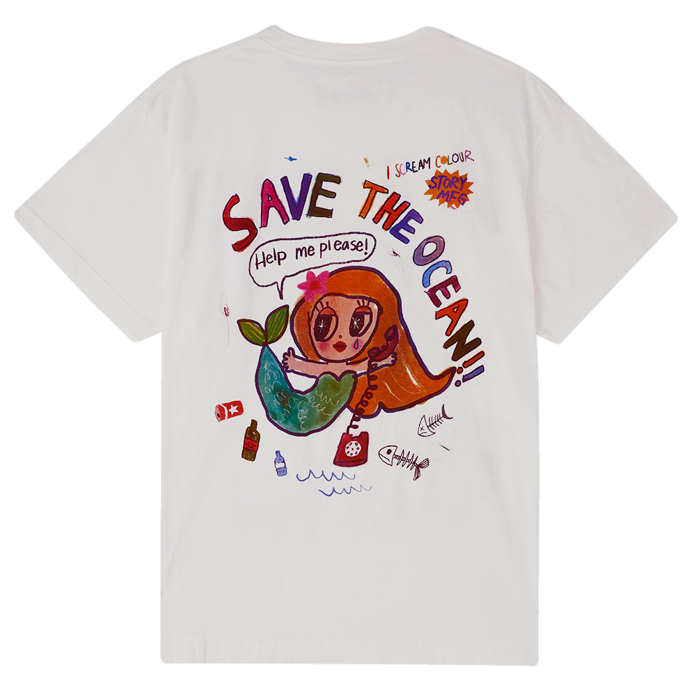Grateful Tee SS - Save The Ocean!