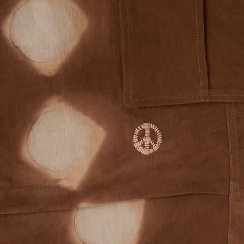 Peace Pants − Bark Pink Lunar Clamp