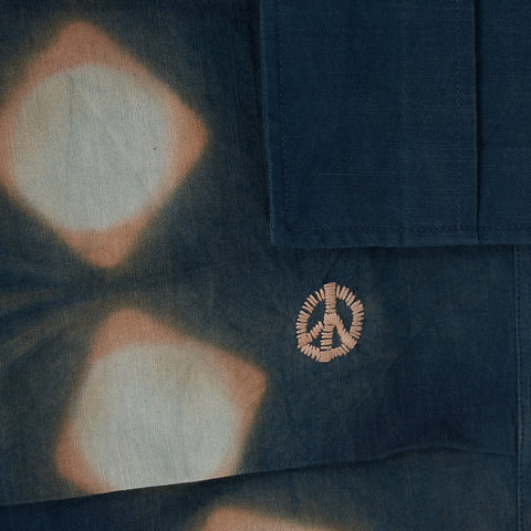 Peace Pants − Indigo Pink Lunar Clamp