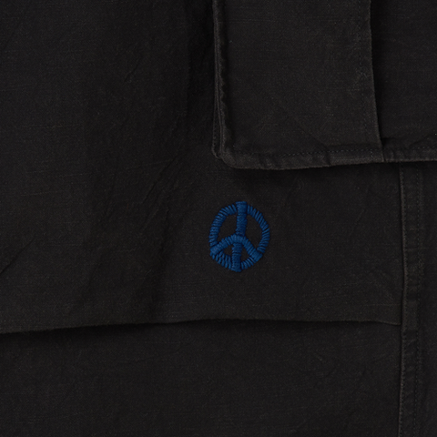 Peace Pants - Iron Black Slub
