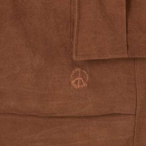 Peace Pants - Bark Brown Slub