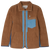 Caravan Jacket - Bark Brown Quilted Linen