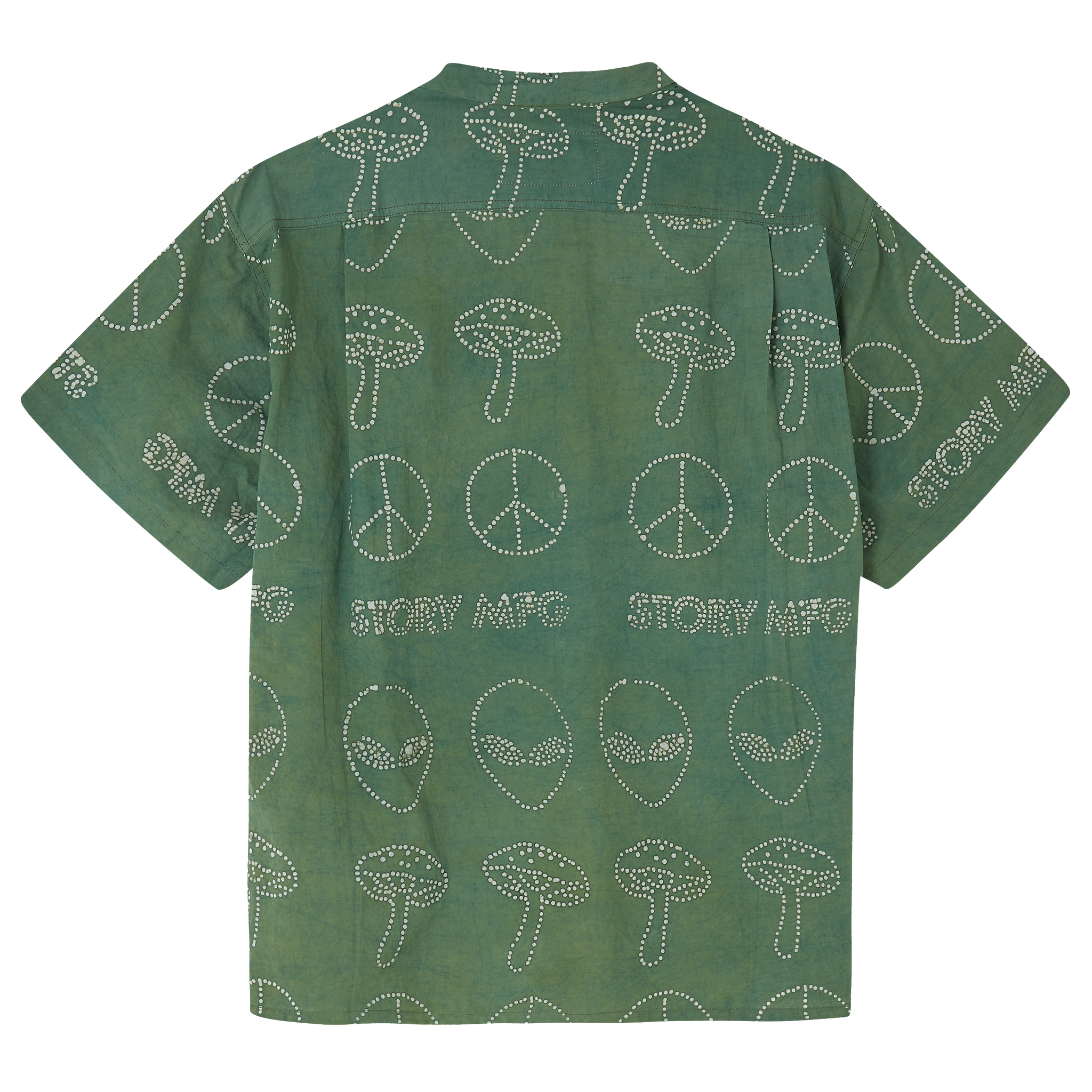 Shore Shirt - Green Meet the Aliens