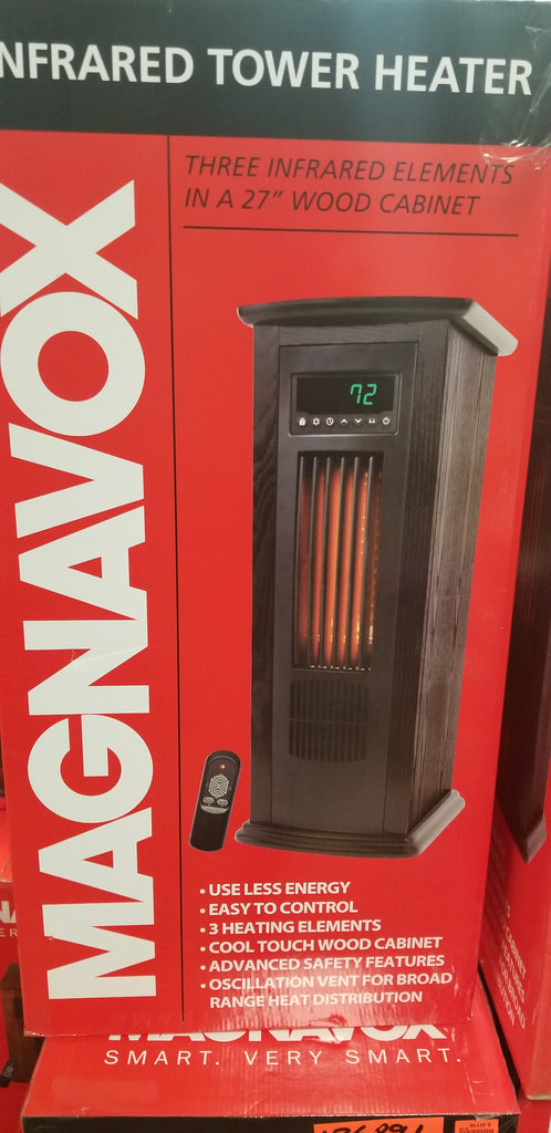 Magnavox infrared tower heater