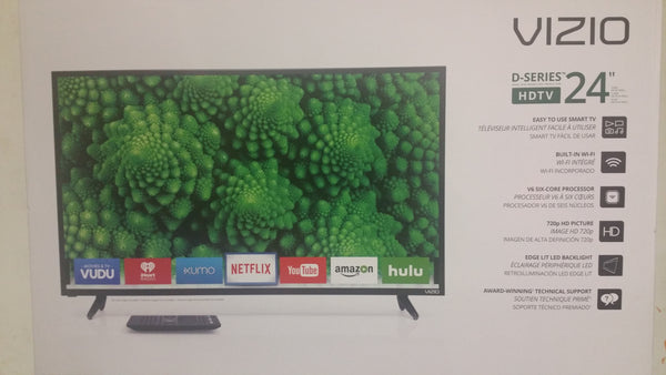Vizio 24 in  D - series hdtv