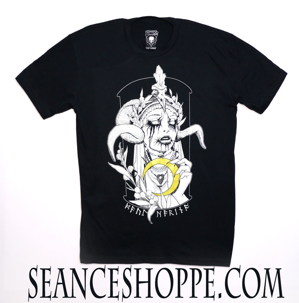 Moon Godess T-Shirt By Paul Marino