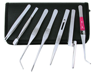 7 Piece Tweezer Set