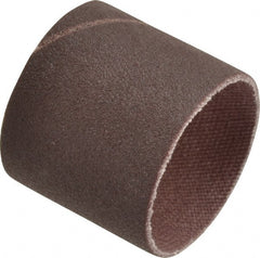 "3M - 240 Grit Aluminum Oxide Coated Spiral Band - 1"" Diam x 1"" Wide, Very Fine Grade"