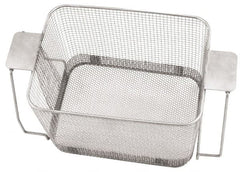 "CREST ULTRASONIC - Stainless Steel Parts Washer Basket - 177.8mm High x 215.9mm Wide x 11"" Long, Use with Ultrasonic Cleaners"