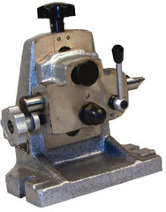 "Phase II - 6"" Table Compatibility, 3.94 to 5.516"" Center Height, Tailstock - For Use with Rotary Table"