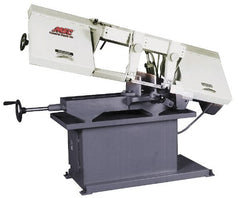 "Vectrax - 9 x 14-1/2"" Max Capacity, Manual Step Pulley Horizontal Bandsaw - 82, 127, 186 & 300 SFPM Blade Speed, 110/220 Volts, 1-1/2 hp, 1 Phase"