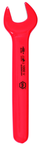 Insulated Open End Wrench 22mm x 196mm OAL; angled 15°
