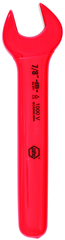"Insulated Open End Wrench 1-1/8"" x 233mm OAL; angled 15°"