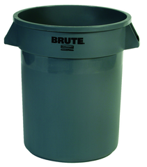 Brute - 20 Gallon Round Container -- Double-ribbed base