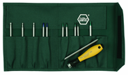12 Piece - System 4 ESD Safe Drive-Loc Interchangeable Set - #26985 - Slotted 1.5 - 4.0 and Phillips #000 - 1 and Torx® T1-T15 - Canvas Pouch