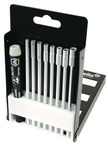 9 Piece - System 4 ESD Safe Metric Nut Drivers Interchangeable Set - #26998 - Includes: 2.0 - 5.5mm