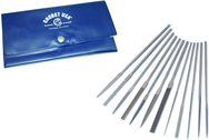 Escapement File, 12-pc SET, Cut 2