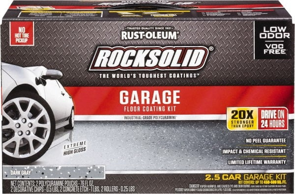 Rust Oleum 152 Oz Dark Gray Garage Floor Coating Low