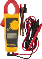 "Fluke - 323, CAT IV, CAT III, Digital True RMS Clamp Meter with 1.18"" Clamp On Jaws - 600 VAC/VDC, 400 AC Amps, Measures Voltage, Continuity, Current, Resistance"