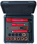 "1 Piece - 1/2"" Drive Metric Socket and Drive Tool Set"