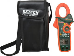 "Extech - EX810, CAT III, Digital Average Responding Auto Ranging Clamp Meter with 1.7"" Clamp On Jaws - 600 VAC/VDC, 1000 AC Amps, Measures Current, Temperature"