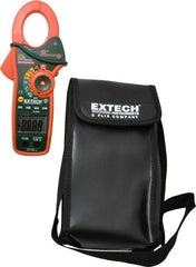 "Extech - EX830, CAT III, Digital True RMS Auto Ranging Clamp Meter with 1.7"" Clamp On Jaws - 600 VAC/VDC, 1000 AC/DC Amps, Measures Current, Temperature"