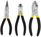 STANLEY® 3 Piece Basic Plier Set