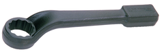 "2-1/8"" x 13-9/16"" OAL-12 Point-Black Oxide-Offset Striking Wrench"