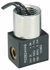 Parker - Direct Acting, Thermoplastic Solenoid Valve - Normally Closed, 232 Max PSI, FKM Seal