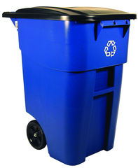 50 Gallon Brute Recycling Container with Lid