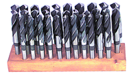 32 Pc. Cobalt Reduced Shank Drill Set