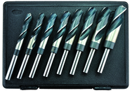 "9/16 - 1""  8 Pc. Cobalt Reduced Shank Drill Set - 1/2"" Shank"