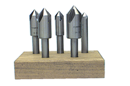 5 pc. HSS 82 Degree Countersink Set