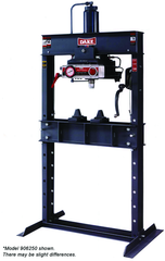 Air Operated Double Pump Hydraulic Press - 6-475 - 75 Ton Capacity