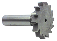 "1/4"" Dia. - HSS - Woodruff Slotting Shank Type Cutter"