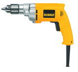 #DW223G - 7.0 No Load Amps - 0 - 1200 RPM - 3/8'' Keyed Chuck - Corded Reversing Drill
