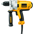 #DWD215G - 10.0 No Load Amps - 0 - 1;100 RPM - 1/2'' Keyless Chuck - Corded Reversing Drill