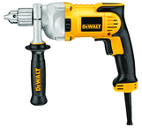 "#DWD220 - 10.5 No Load Amps - 0 - 1200 RPM - 1/2"" Keyed Chuck - Corded Reversing Drill"