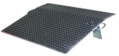 Aluminum Dockplates - #E4848 - 2600 lb Load Capacity - Not for use with fork trucks