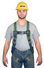 Miller Duraflex Ultra Harness w/Duraflex Stretchable Webbing; Friction Buckle Shoulder Straps & Quick Connect Leg & Chest Straps