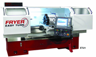 Easy Turn Toolroom Lathe - #ET21 - 21'' Swing--60'' Between Centers--15 HP Motor