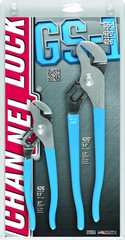 "Channellock Tongue & Groove Plier Set -- #GS1; 2 Pieces; Includes: 6-1/2""; 9-1/2"""