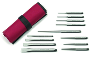 12PC PUNCH AND CHISEL SET