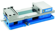 "Plain Anglock Vise - Model #HD691- 6"" Jaw Width- Hydraulic- Metric"