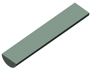 25mm x 50mm - Half Round Carbide Blank