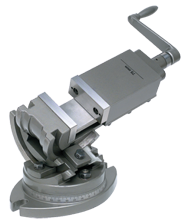 "3-Axis Precision Tilting Vise 5"" Jaw Width, 1-3/4"" Depth"