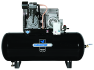 120 Gal. Two Stage Air Compressor, Horizontal, 175 PSI