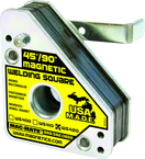 Magnetic Welding Square - Extra Heavy Duty - 3-3/4 x 1-1/2 x 4-3/8'' (L x W x H) - 150 lbs Holding Capacity